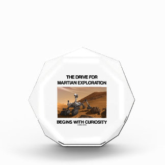 The Drive For Martian Exploration Begins Curiosity Award