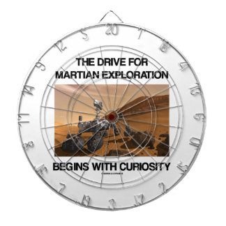 The Drive For Martian Exploration Begins Curiosity Dartboard With Darts