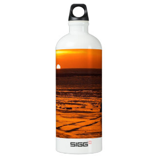 The Drive to work Aluminum Water Bottle