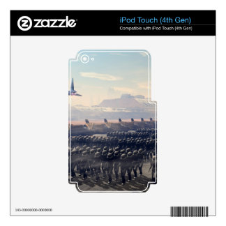 the droid army skins for iPod touch 4G