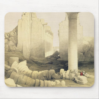 The Dromos or Central Hall of the Great Temple of Mouse Pad