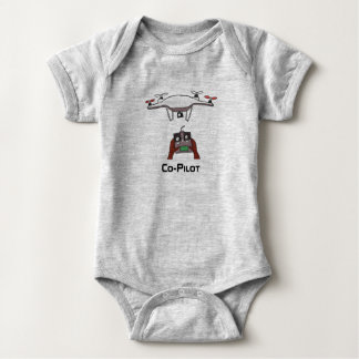 The drone co-pilot baby onsie jumpsuit baby bodysuit
