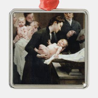 The Drop of Milk in BellevilleDoctor Variot's Metal Ornament