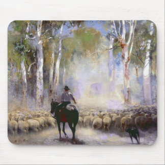 The Drover Mouse Pad