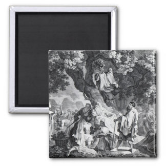 The Druids, or the Conversion of the Britons 2 Inch Square Magnet