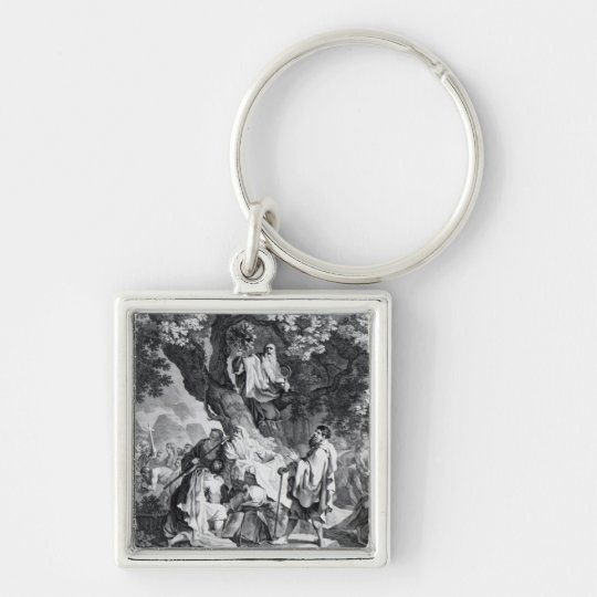 The Druids, or the Conversion of the Britons Keychain