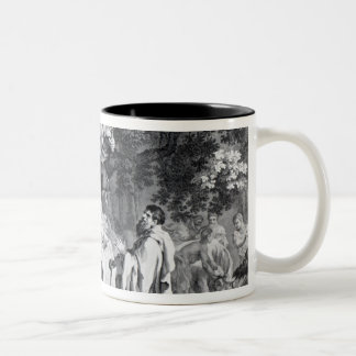 The Druids, or the Conversion of the Britons Two-Tone Coffee Mug