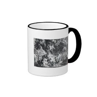 The Druids, or the Conversion of the Britons Ringer Coffee Mug