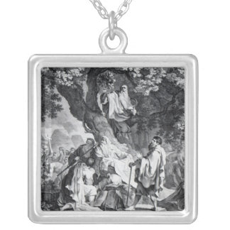 The Druids, or the Conversion of the Britons Silver Plated Necklace