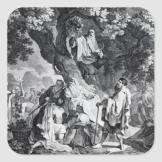 The Druids, or the Conversion of the Britons Square Sticker