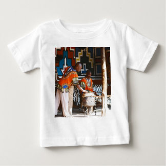 The Drum Beats Of Africa Baby T-Shirt