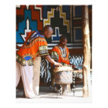 The Drum Beats Of Africa Letterhead