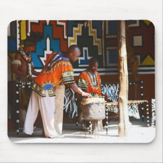 The Drum Beats Of Africa Mouse Pad