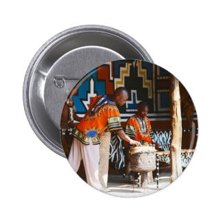 The Drum Beats Of Africa Pinback Button