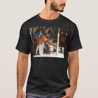 The Drum Beats Of Africa T-Shirt
