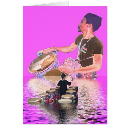 The Drum Boat Card