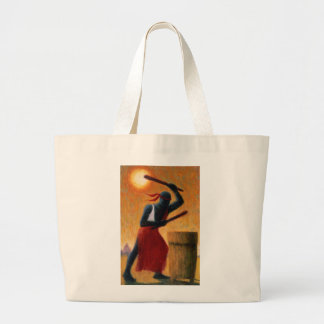 The Drummer 1993 Large Tote Bag
