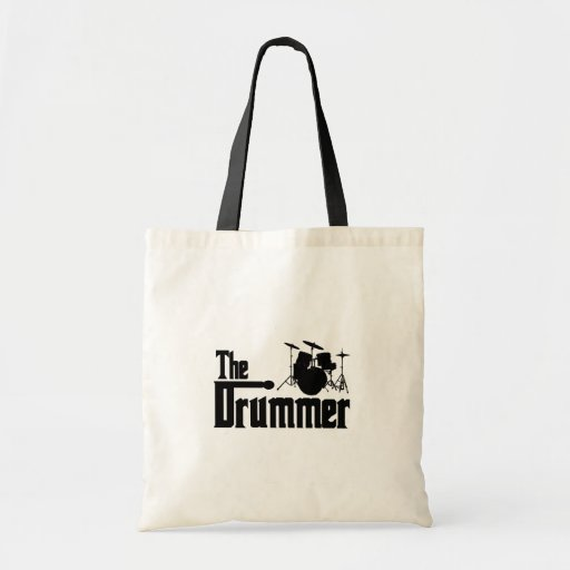 The Drummer Budget Tote Bag