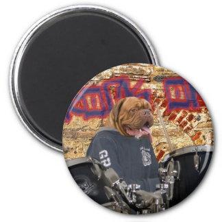 The drummer fridge magnet