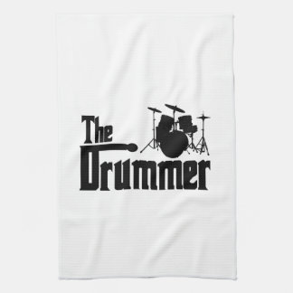 The Drummer Hand Towel