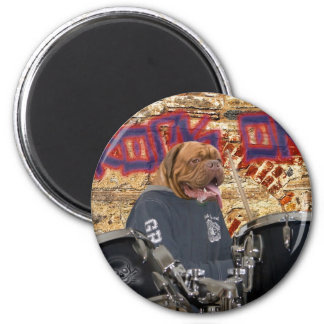 The drummer magnet