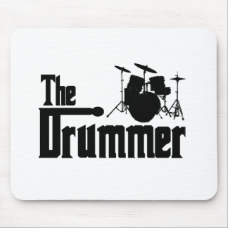 The Drummer Mouse Pad