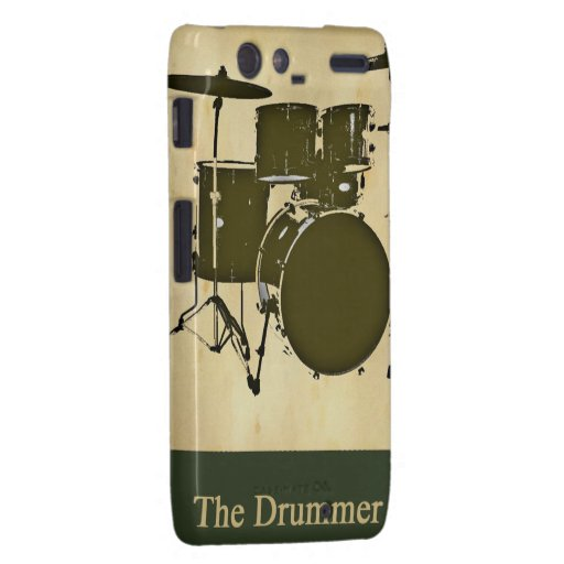 the drummer of the band droid RAZR covers
