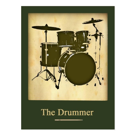 the drummer of the band postcard