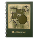 the drummer of the band spiral note books