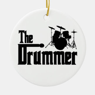 The Drummer Ornament