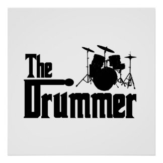 The Drummer Poster