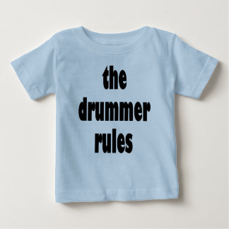 The Drummer Rules Infant T-shirt