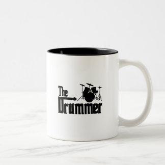 The Drummer Two-Tone Coffee Mug