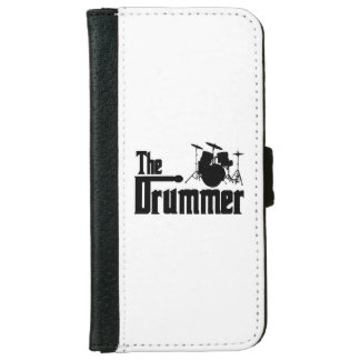 The Drummer Wallet Phone Case For iPhone 6/6s