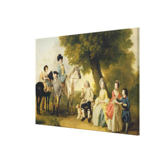 The Drummond Family, c.1769 (oil on canvas) Gallery Wrap Canvas
