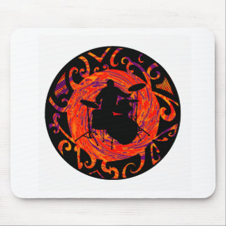 The DRUMS Wave Mouse Pads
