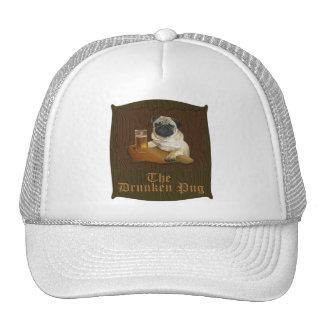 The Drunken Pug logo Hat