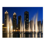 The Dubai Fountains Post Card