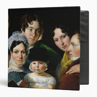 The Dubufe Family in 1820 3 Ring Binder