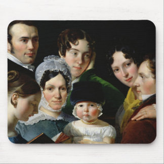 The Dubufe Family in 1820 Mouse Pad