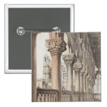 The Ducal Palace, Renaissance Capitals of the Logg 2 Inch Square Button