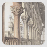 The Ducal Palace, Renaissance Capitals of the Logg Square Sticker