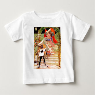 The Duchess and the Executioner in Wonderland Baby T-Shirt