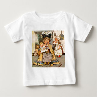 The Duchess and The Pig Baby in Her Kitchen Baby T-Shirt