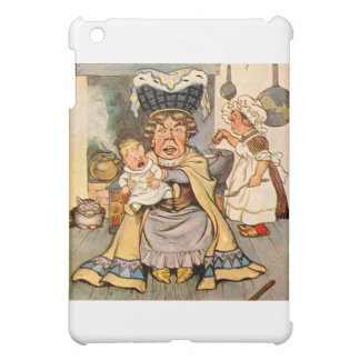 The Duchess and The Pig Baby in Her Kitchen iPad Mini Cover