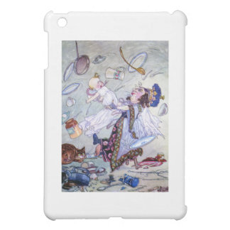 The Duchess and the Pig Baby in Her Kitchen iPad Mini Cases