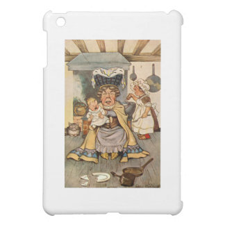 The Duchess and The Pig Baby in Her Kitchen iPad Mini Case