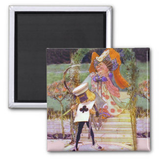 The Duchess and the Queen's Executioner 2 Inch Square Magnet