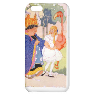 The Duchess Gives Alice TIps on Flamingo Croquet iPhone 5C Cases