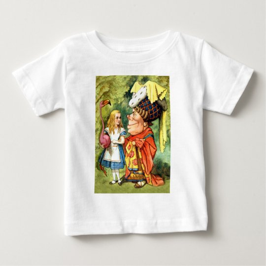 THE DUCHESS INSTRUCTS ALICE IN THE QUEEN'S CROQUET BABY T-Shirt